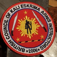 Eskrima badge